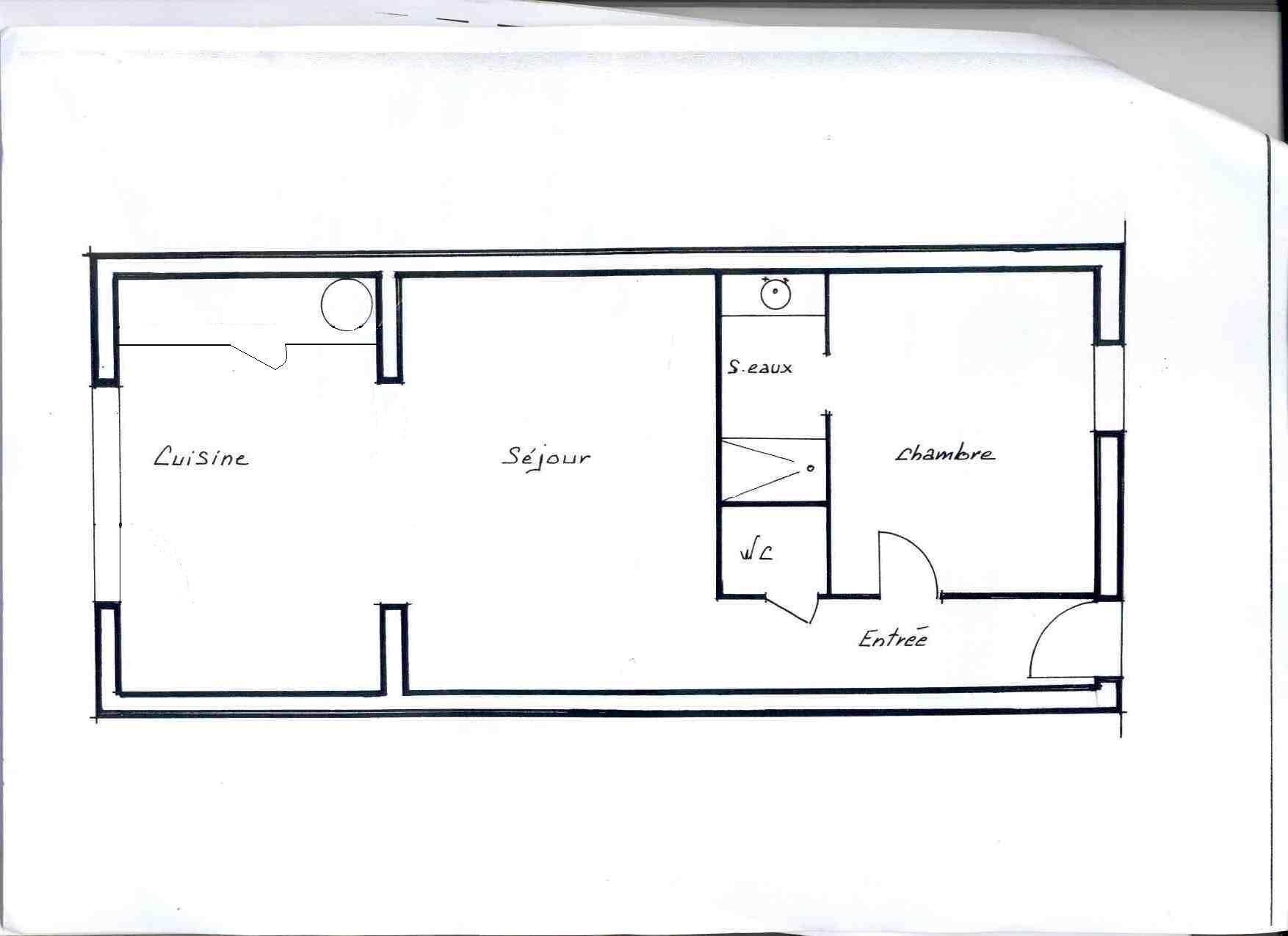 Ma maison mes travaux avant les travaux for Agrandissement maison moins de 40m2